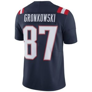 Gronkowski Vapor Untouchable Color Rush Jerseys